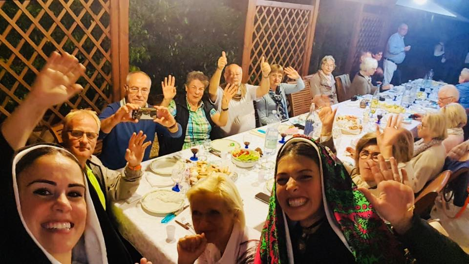 Sardinian dinner and party in a private house
